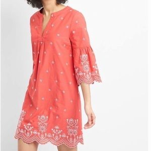Gap NWT Picnic Embroidered Dress
